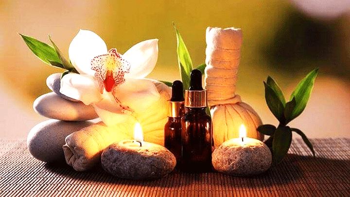 almond oil massage