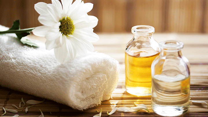 chamomile oil massage